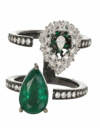 MARIANI Alterego Emerald and Diamond Ring