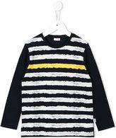 Il Gufo striped sweatshirt - kids - Cotton/Spandex/Elastane - 3 yrs