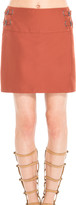 Max Studio Skirt With Side Buckles