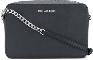 MICHAEL Michael Kors Jet Set large cross body clutch bag