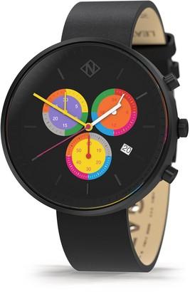 Newgate G6s Domino - Womens Chronograph Watch - Black Multicolour