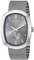 Philip Stein Teslar Men's 'Modern' Swiss Quartz Stainless Steel Casual Watch