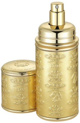 Creed Gold with Gold Trim Leather Deluxe Atomizer