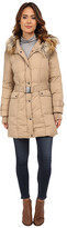 DKNY 3/4 Down w/ Seam Detail and Faux Fur Collar 31900-Y5