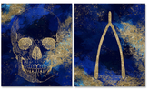 Oliver Gal Bones (Canvas) (Set of 2)