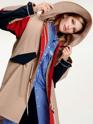 Tommy Hilfiger Tommy Icons Colour-Block Parka
