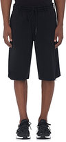 Y-3 Men's Patch Cotton-Blend Shorts