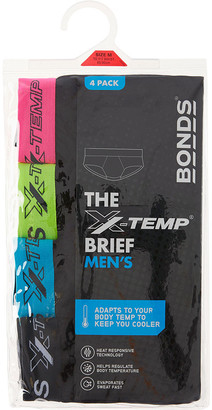 Bonds X-Temp Brief 4 Pack