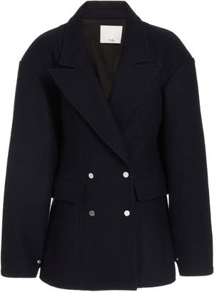 Tibi Wool Cut-Out Blazer