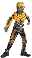Bumble Bee Child Transformers Bumblebee Movie Deluxe Costume