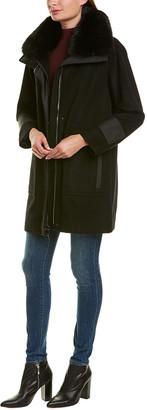 Trina Turk Wool-Blend Coat