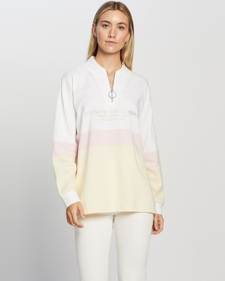 Stussy Daley Zip Rugby