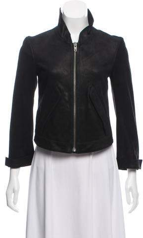 5b02d90b2f1 Petite Leather Jacket - ShopStyle