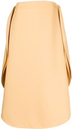 Stella McCartney Anika circular midi-skirt