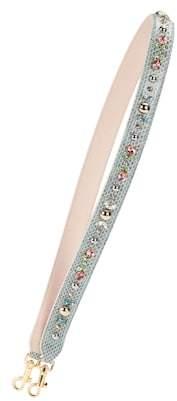 Dolce & Gabbana Embellished snakeskin bag strap