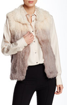 Love Token Cooper Genuine Rabbit Fur Vest