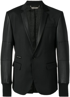 Philipp Plein Elegant single-breasted blazer