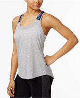 Ideology Printed Racerback Tank Top, Only at Macy's