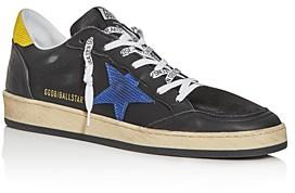 Golden Goose Unisex Ball Star Lizard Leather Low-Top Sneakers