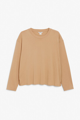 Monki Soft long-sleeve top