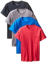 Fruit of the Loom Men`s 4-Pack Fashion Color Pocket T-Shirts