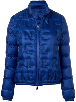 Moncler Embossed Logo Padded Jacket