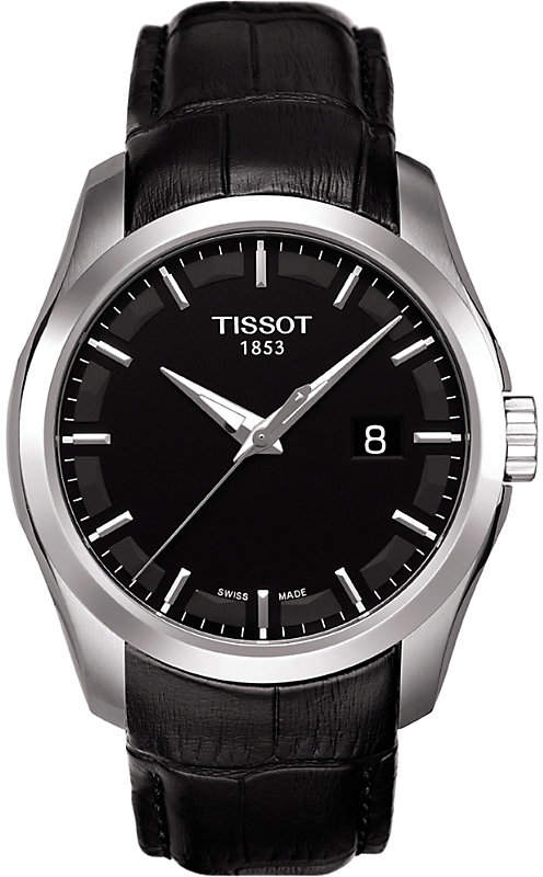 Tissot T035.410.16.051.00 Couturier stainless steel watch