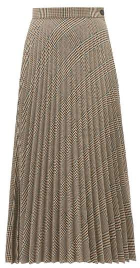 3092afa050 Beige Pleated Skirt - ShopStyle