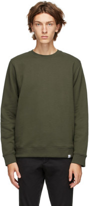 Norse Projects Green Vagn Classic Crew Sweatshirt