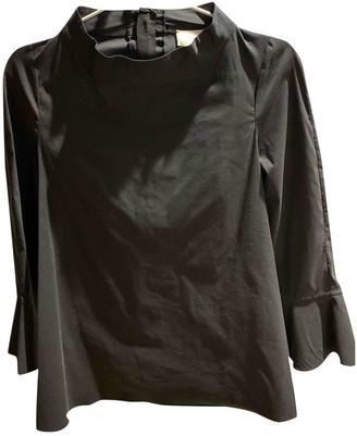 Aquilano Rimondi Black Cotton Top for Women