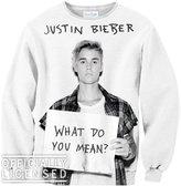 Shelfies What Do You Mean Justin Bieber Sweater