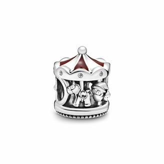 Pandora Women Silver Bead Charm 798435C01