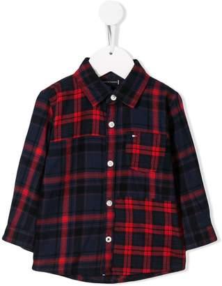 Tommy Hilfiger Junior plaid print shirt