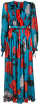 MSGM Printed long dress