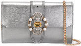 Miu Miu embellished clutch