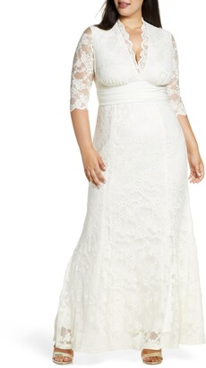 Kiyonna Amour Lace Gown