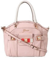 GUESS Isia Dome Satchel (Rose Multi) - Bags and Luggage