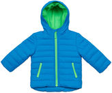 Carter's Blue Quilted Long-Sleeve Hooded Coat - Baby Boys newborn-24m