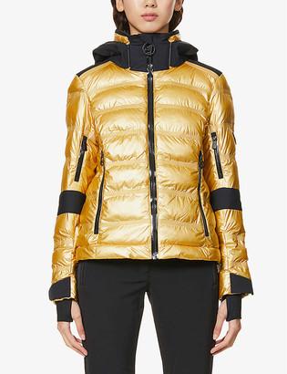 Toni Sailer Tami metallic padded shell jacket