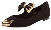 Aperlaï Clotilde Bow Ballet Flat
