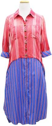Aratta American Beauty Striped Longline Blouse