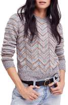 Free People Zigzag Pullover