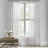 Barbara Barry Sheer Tracery Rod Pocket Window Curtain Panel