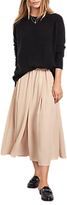 Hush Marina Metallic Skirt, Dusty Pink