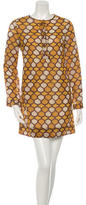 Tory Burch Wool Printed Dress
