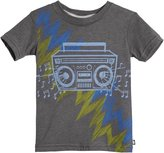 City Threads Boombox Graphic Tee (Toddler/Kid) - Charcoal-4T
