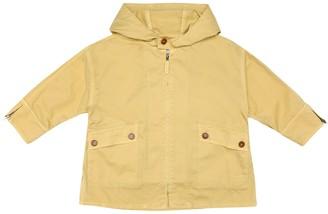 Caramel Brompton cotton rain coat