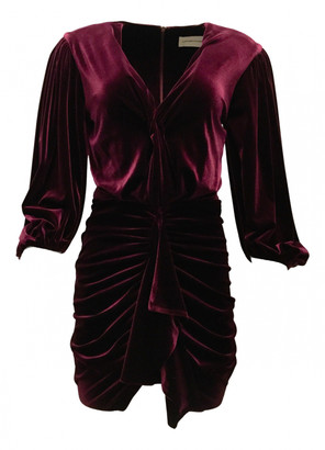 Alexandre Vauthier Purple Polyester Dresses