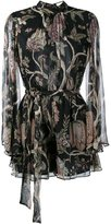 Zimmermann floral print playsuit