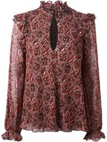 Giambattista Valli printed blouse - women - Silk - 40